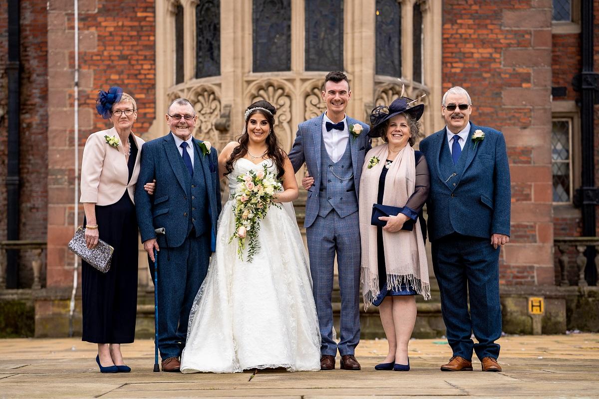 Wedding at Crewe Hall