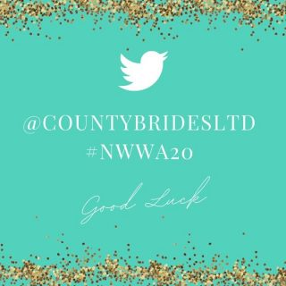 We'll be live tweeting all the awards and winners tonight so be sure to follow us on Twitter - @countybridesltd and use the hashtag #NWWA20 so we can share your posts!