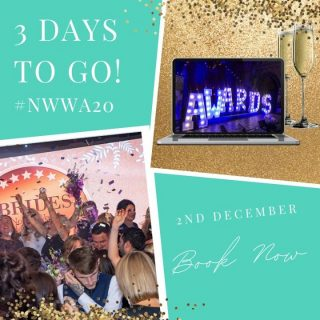 Have you got your glad rags ready?! Just because we're virtual doesn't mean you can't get fancy! 🤵👗 Tap the link in our bio to book your tickets!⠀ ⠀ #NWWA20