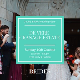 Wedding planning? 🥂 Join us THIS Sunday at the De Vere Cranage Estate where we'll be hosting a fab range of local suppliers!  Tap the link in our bio to book your FREE tickets!   Chat to photographers, bridal boutiques, florists, musicians, entertainers and many more who'll be happy to provide all the advice you need!   There'll be some fab offers on the day and you'll be able to see the latest wedding trends in our live catwalk shows!   We'll be handing out FREE copies of our latest magazine, packed with plenty of added inspiration. Plus, you'll be able to take a tour of the venue with the dedicated events staff who will be able to answer your questions.   We hope to see you there!  ✨FREE entry  ✨Lots of local suppliers  ✨FREE County Brides magazine  ✨Live catwalk shows ✨Free parking