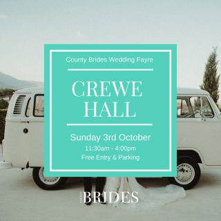 ✨Crewe Hall Wedding Show✨This Sunday 3rd October✨⠀ Looking for ideas and inspiration for your big day? Look no further! We're hosting a FAB range of suppliers and creatives at this beautiful Cheshire venue on Sunday. Take tours, watch catwalks, book suppliers and ask all the questions you need.⠀ Tap the link in our bio to book your free tickets.⠀ ⠀ ⠀ ⠀ #northwestwedding #weddingfair #weddingfayre #northwestweddingsupplier #cheshirewedding