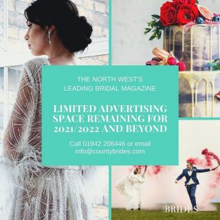 ✨ Advertising Deadline is tomorrow for our 21/22 magazine!✨   Call us on 01924 206446 or email duane@countybrides.com for more information.   ✨150k readership ✨Hand delivered directly to brides at over 220 wedding fayres Plus ✨Free advert design ✨Free competitions to generate leads ✨Promotional blogs on our website  #weddingsupplierhub #weddingsupplier #northwestwedding #weddingmagazine #weddingcompetition #weddingideas