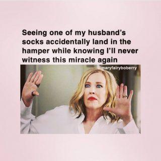 Miracles can happen 🤩 . . . . . . . . 📸 @mymomlogs . #marriagememes #wifememes #fridaymeme #relationshipmemes #weddingmemes #bridememes #husbandmemes #viralmemes #funnymemes #marriagequotes #marriageproblems #relationshipproblems