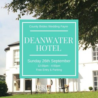 It's our Deanwater Hotel wedding fayre THIS Sunday! Find plenty of inspiration for your big day all under one roof!   We're bringing together some fab creatives and suppliers who'll be on hand to offer advice and help you plan.   You'll also get a FREE copy of our latest magazine! So round up the bride tribe and we'll see you on Sunday! Tap the link in our bio to book your free tickets 🎟   ✨The Deanwater Hotel, Woodford SK7 1RJ ✨12:00-4:00pm ✨Free Entry  ✨Free Parking