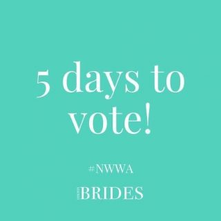 Only 5 days left to vote in this year's North West Wedding Awards for the suppliers who really helped to make your big day special!  Voting only takes 2 minutes and every vote means a lot to these talented people!  Click here to have your say: https://www.countybrides.com/cast-your-votes-2021/