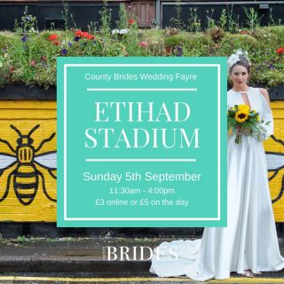 ✨We're back on Sunday 5th September with our first wedding fayre of the season✨⠀ ⠀ Tag your Bride Squad in the comments and click the link in our bio to book! It's going to be a big one!⠀ ⠀ ✨The Etihad Stadium, Manchester ⠀ ✨5th September ⠀ ✨11:30am - 4pm ⠀ ✨£3 online or £5 on the day ⠀ ⠀ ⠀ #weddingfayre #weddingfair #weddingtips #weddingplanning #cheshirewedding #northwestwedding #weddinggoals #manchesterwedding #northwestbride #manchesterbride #cheshirebride #weddingsuppliers #ukweddings #weddingcake #weddingphotographer #weddingvideographer #weddingcars #weddingmakeup #weddingdress #bridesmaiddress #weddingfashion #bridalmakeup #bridalhair #weddingvenue #weddingcaterer #weddingdecor #weddingplanner #weddingsuit #groom #bridetobe2021