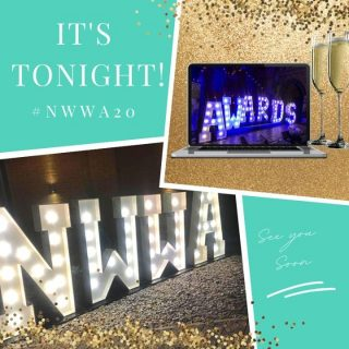 Today's the day! We're so excited to raise a toast to you all tonight at The North West Wedding Awards 2020! We've extended the ticket window until 3pm today, the link will close then so be sure to get yours if you haven't already! Click the link in our bio.⠀ ⠀ See you on screen at 7:30pm! ⠀ ⠀ #NWWA20