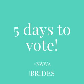 Only 5 days left to vote in this year's North West Wedding Awards for the suppliers who really helped to make your big day special! ⠀ ⠀ Voting only takes 2 minutes and every vote means a lot to these talented people! ⠀ ⠀ Click the link in our bio to have your say!⠀ ⠀ ⠀ ⠀ ⠀ #northwestwedding #northwestweddingsupplier #weddingsupplier #weddingawards #northwestweddingawards #nwwa21