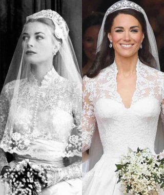 The inspiration for so many brides, Grace Kelly in THAT dress 😍 #iconic   Images: @weddingpeace  #weddingdress #laceweddingdress #katemiddletonweddingdress #katemiddletonstyle #katemiddletonfashion #katemiddletonhair #katemiddletondress #katemiddletonlook #gracekelly #katemiddleton #gracekellywedding #gracekellyweddingdress #bridetobe #weddingdressinspiration #weddingdressgoals #elegantweddingdress