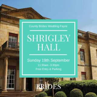 Our second wedding fayre of the Autumn season is at the beautiful Shrigley Hall. We're excited to see you there! Tap the link in our bio to get your free tickets! ⠀ ⠀ ⠀ ✨Lots of local wedding suppliers and creatives ⠀ ✨Sunday 19th September ⠀ ✨11:30 AM – 3:30 PM⠀ ✨Shrigley Hall, Macclesfield SK10 5SB⠀ ✨Free entry ⠀ ✨Free parking