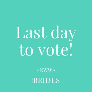 ✨LAST DAY TO VOTE!✨⠀ ⠀ Voting closing at MIDNIGHT tonight for the North West Wedding Awards 2021! Be sure to get yours in for the wonderful suppliers who helped to make your big day extra special!⠀ ⠀ Click the link in our bio to vote! ⠀ ⠀ ⠀ ⠀ ⠀ #northwestweddings #northwestweddingawards #weddingawards #weddingday