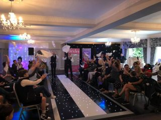 Next fun catwalk at the Deanwater Hotel wedding fayre will be at 3pm